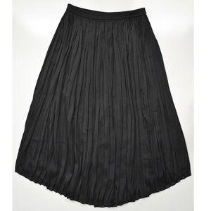 Vince Camuto Peated Midi Skirt